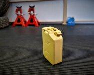 Click image for larger version.  Name:3D printed jerry van in filler-primer.jpg Views:31 Size:126.6 KB ID:39080