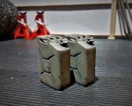 Click image for larger version.  Name:3D printed jerry can the pair.jpg Views:32 Size:170.5 KB ID:39084